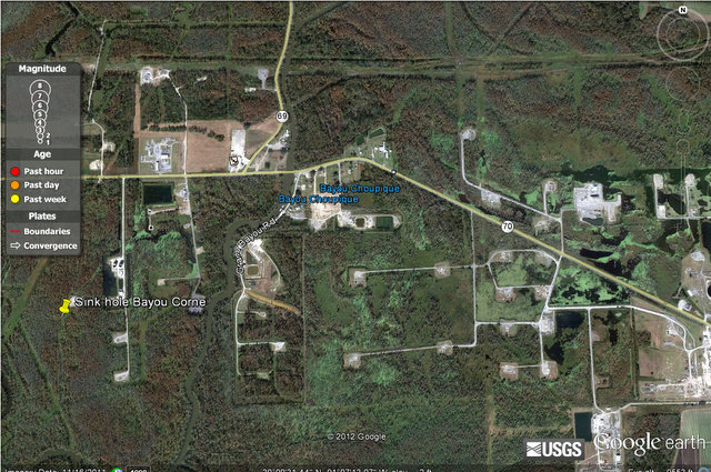 UPDATE! Assumption Parish Louisiana (Bayou Corne) Information - Sinkhole growing