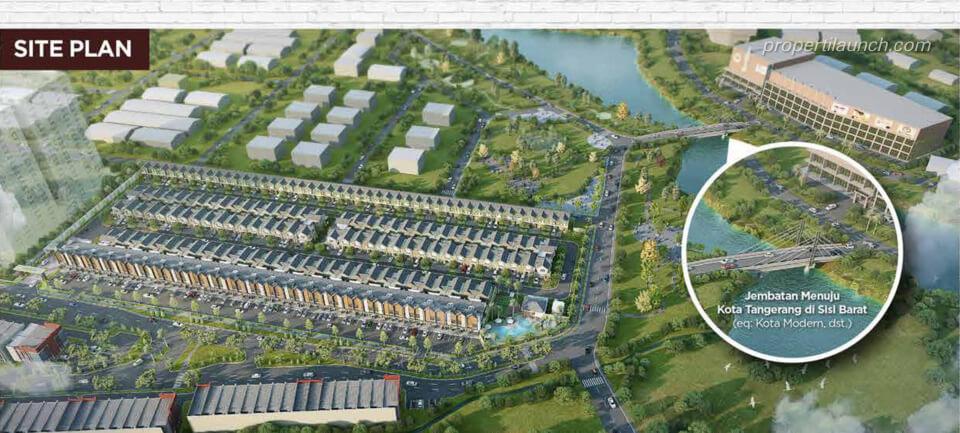 Siteplan Gaia Ayodhya Tangerang