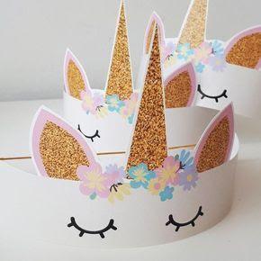 unicorn taç