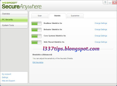 Webroot secureanywhere 2013