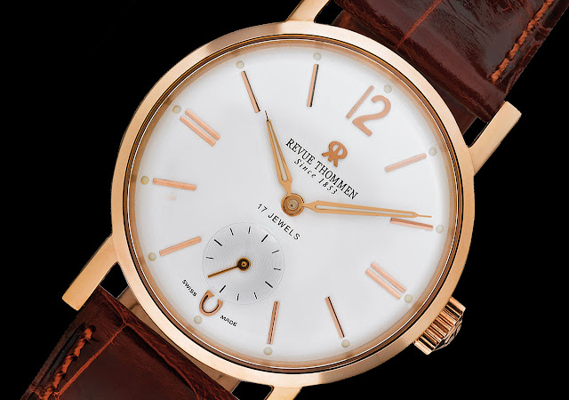 Revue Thommen Classical 82 Round Watch