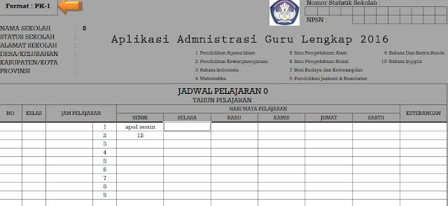 Aplikasi Administrasi Semester Genap
