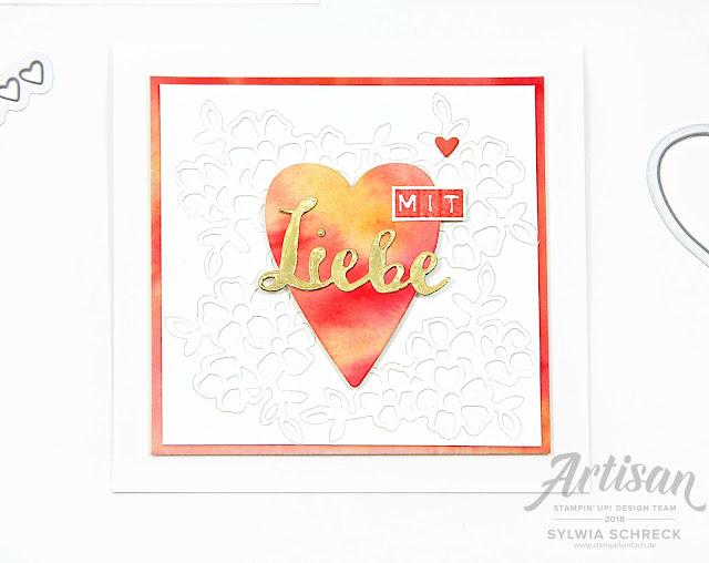 Herzkarte-Mit Liebe-Stampin up