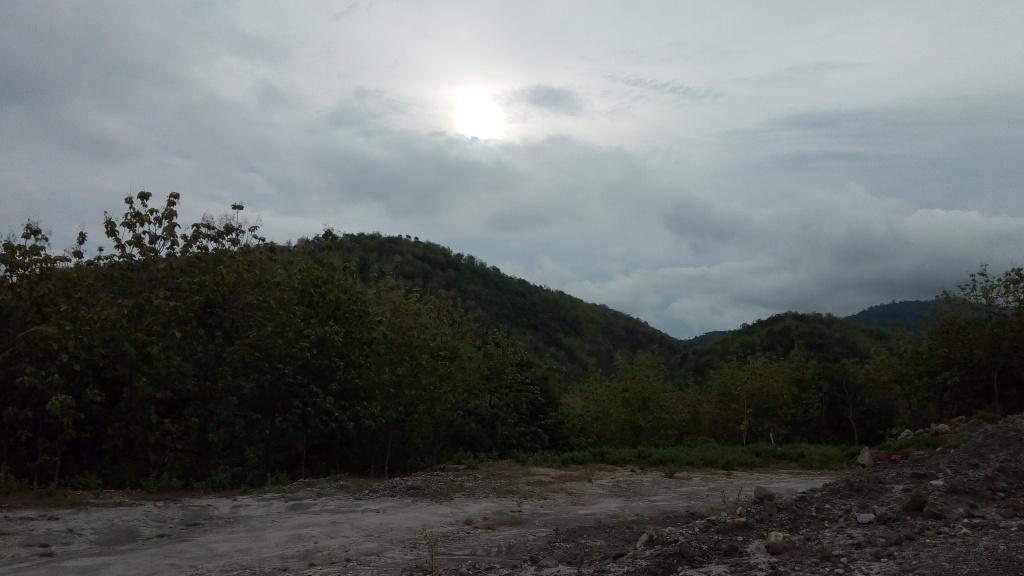Lokasi bekas tambang di Selodiri