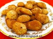 Jednoduché orechové koláčiky - recept