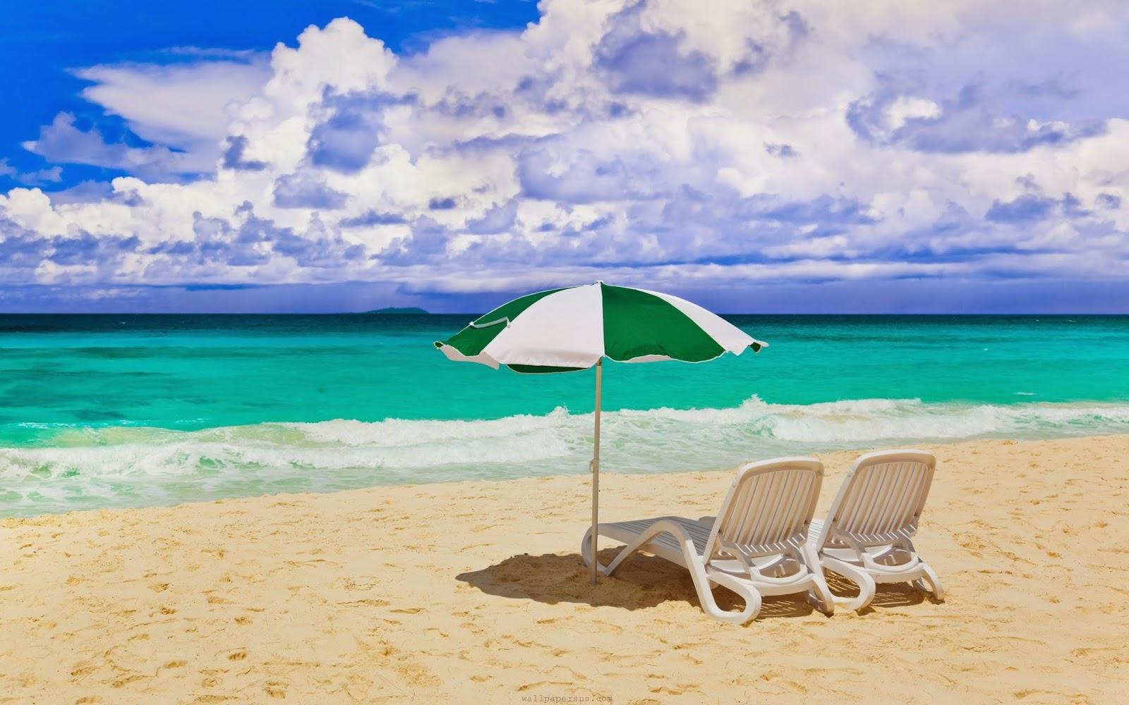 Summer-beach chair wallpapers HD ~ Desktop Wallpapers free ...