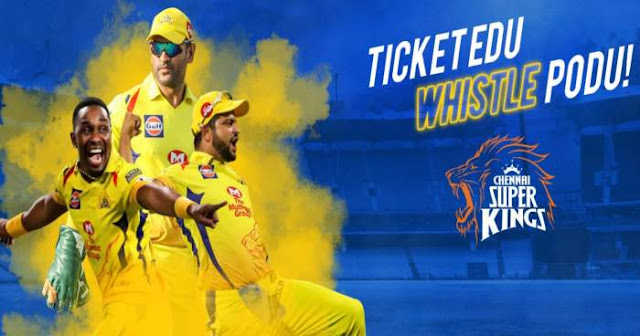 VIVO IPL 2019 Chennai Super Kings (CSK) Ticket Booking : Price and Cost