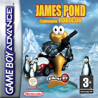 James Pond: Codename Robocod ( BR ) [ GBA ]