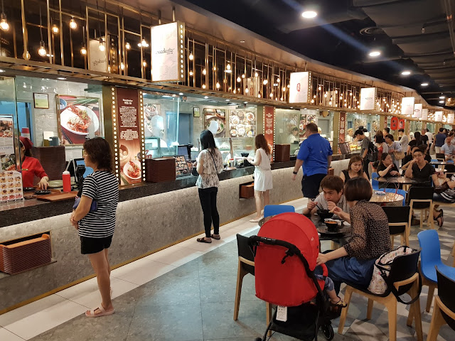 Food court del Marina bay Sands-Singapore