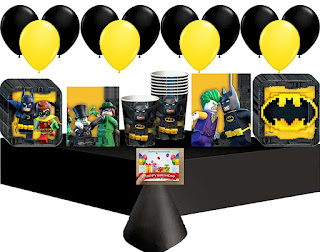 Lego Batman Party Supplies
