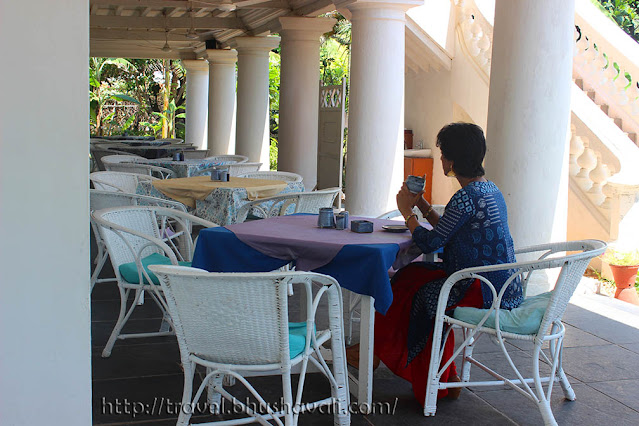 Interiors & Architecture at Neemrana Bungalow on the beach Tranquebar