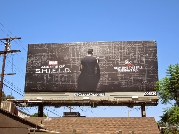 Marvel Agents of S.H.I.E.L.D. season 2 billboard