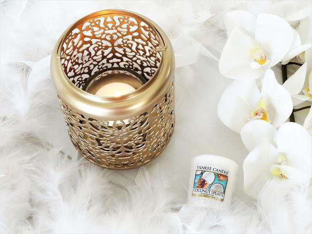 avis Coconut Splash de Yankee Candle, nouveau parfum yankee candle, blog bougie, bougie parfumee, new yankee candle, bougie noix de coco