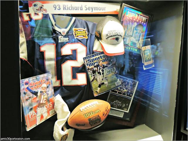 Jersey Tom Brady usado en la Super Bowl XXXVIII