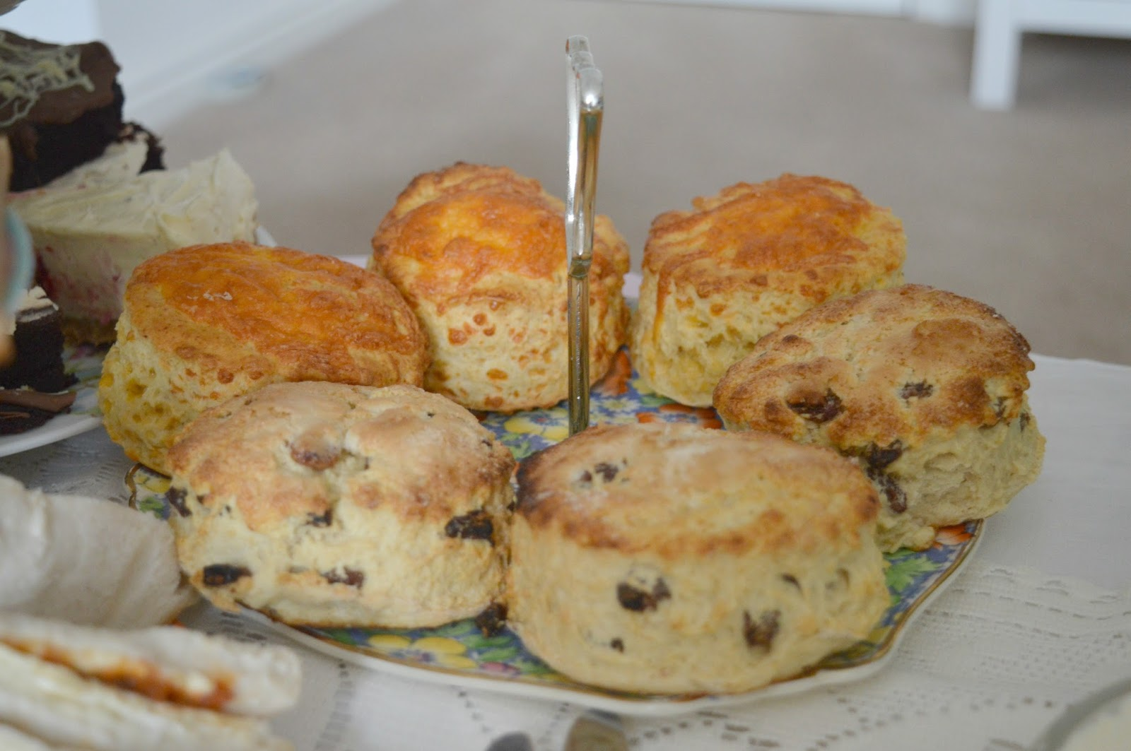 Mrs Dellow's Delights North East Afternoon Tea Delivery Service - Scones
