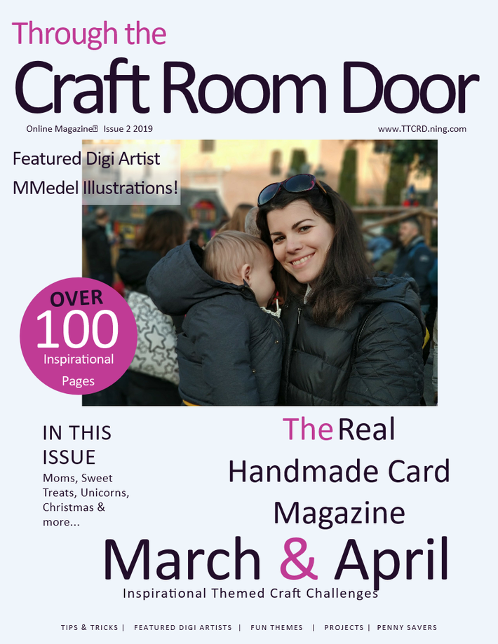 Through the Craft Room Door Magazine - March & April Issue