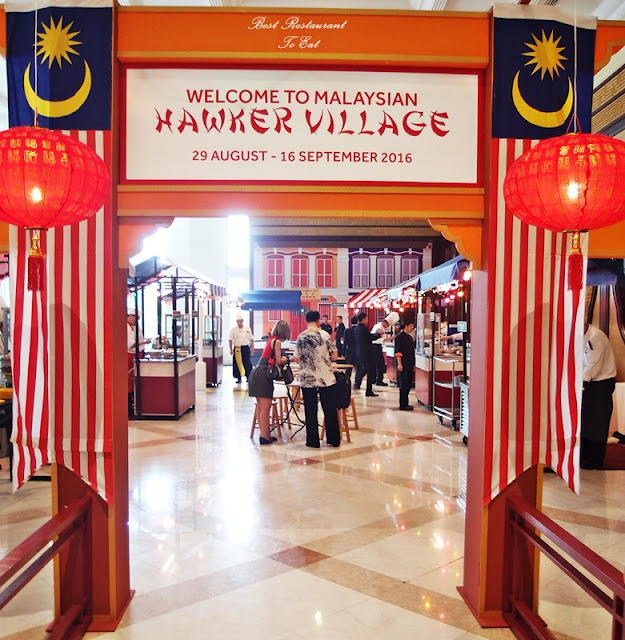 Merdeka 2016 Hawker Street Food Marriot Putrajaya Selangor Front