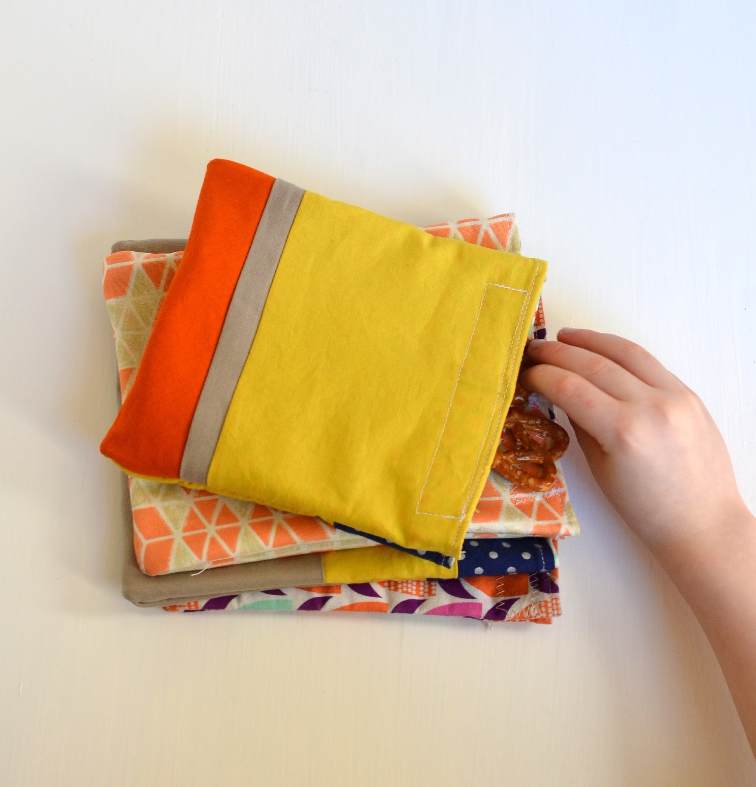 reusable snack bags a tutorial
