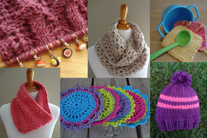 Easy fast crochet christmas gifts