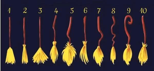 Выберите ведьмину метлу и узнайте своё отличительное качество