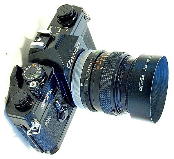 Canon FTb QL, Canon FD 50mm f/1.4 S.S.C.