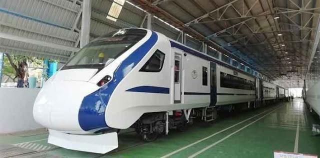 बिना इंजन वाली T 18 ट्रेन जल्द दौड़ेगी
