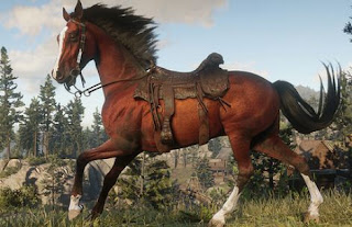 Red Dead Online, Horse, Saddle, Early Access Items