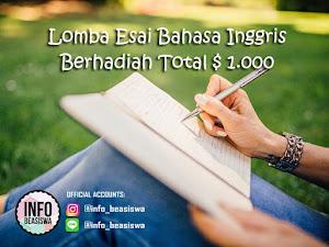 Lomba Menulis Esai oleh ESSAYPRO Berhadiah Total USD 1.000