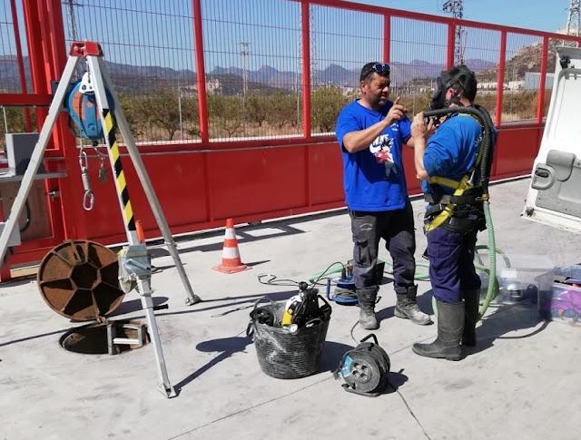 inspeccionado tuberías Valencia
