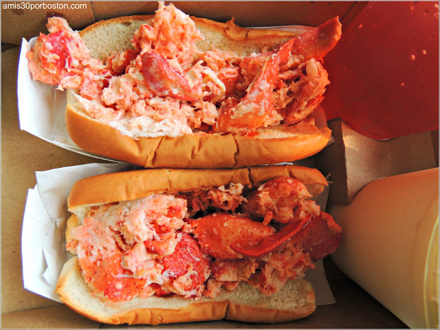 Lobster Roll de Sullivan's Castle Island