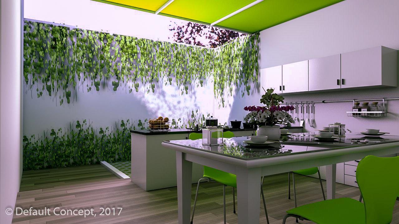 Desain Dapur Outdoor Desainrumahid com