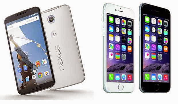 iPhone 6, Nexus 6, smartphone