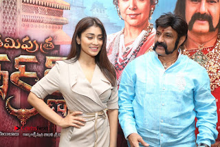 Shriya Saran Nandamuri Balakrishna at Gautamiputra Satakarni Team Press Meet Stills  0197.JPG