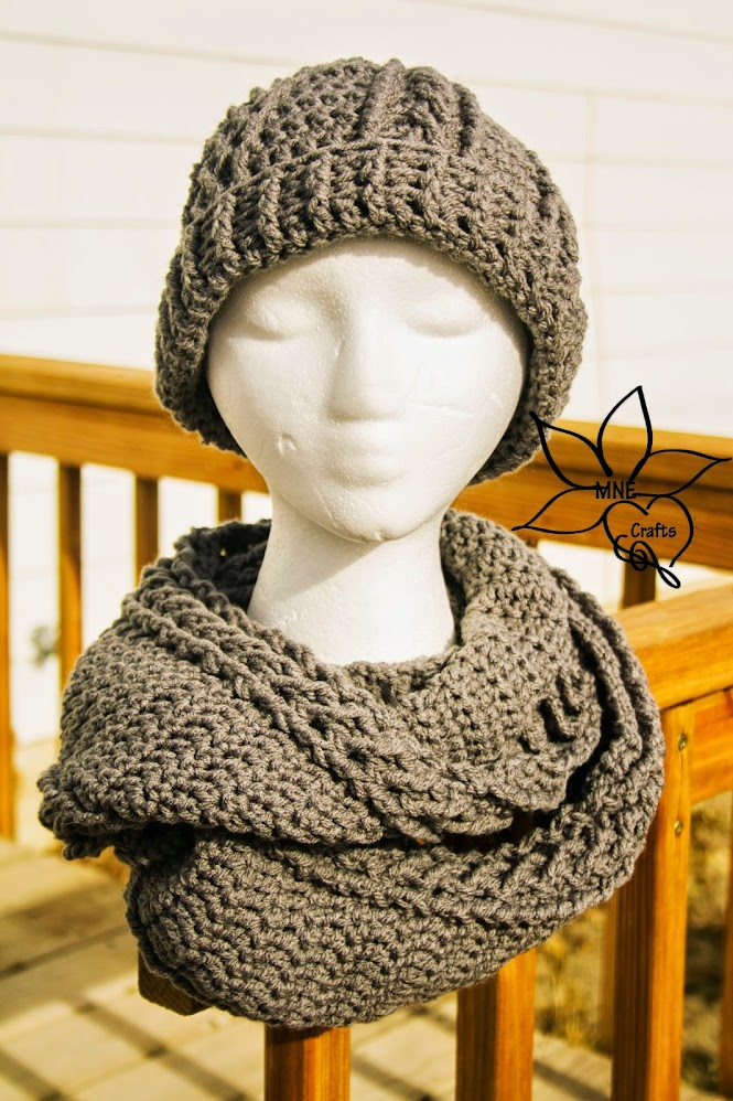 Beautiful Crochet Cable Projects: Cabled Beanie and Cowl