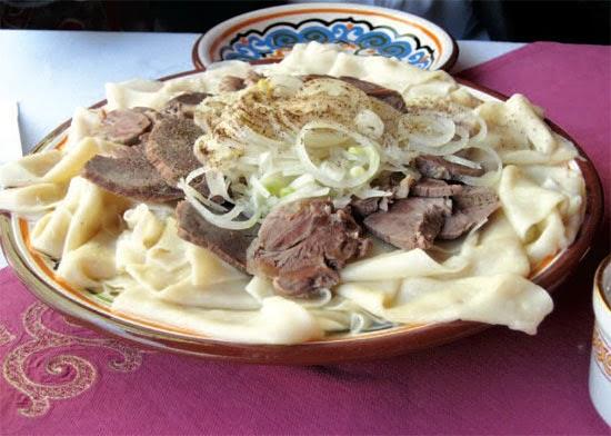 Kazak Yemeği Şaşlık