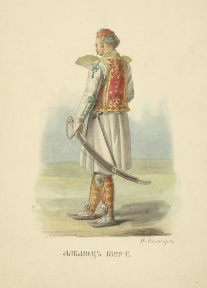 Albanets 1829