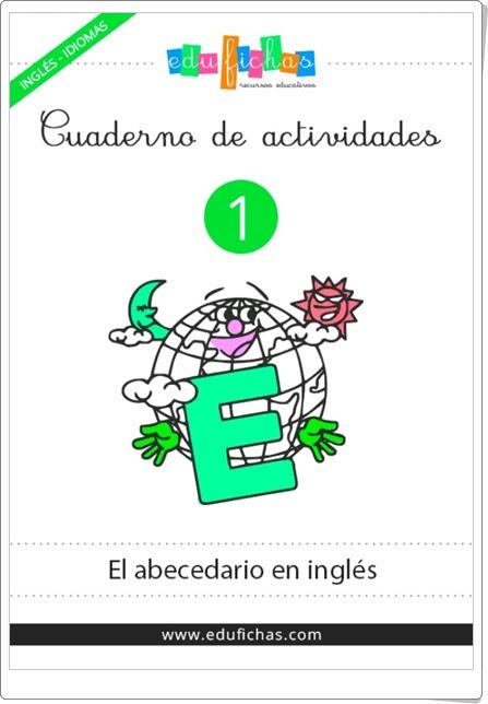 Cuaderno de actividades de Inglés 1 Abecedario Edufichas.com Educación Infantil