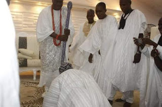 Why Obasanjo, 82, Prostrates For New Ooni Of Ife,  Who is Just 41(SEE PHOTOS) - SPY NIGERIA