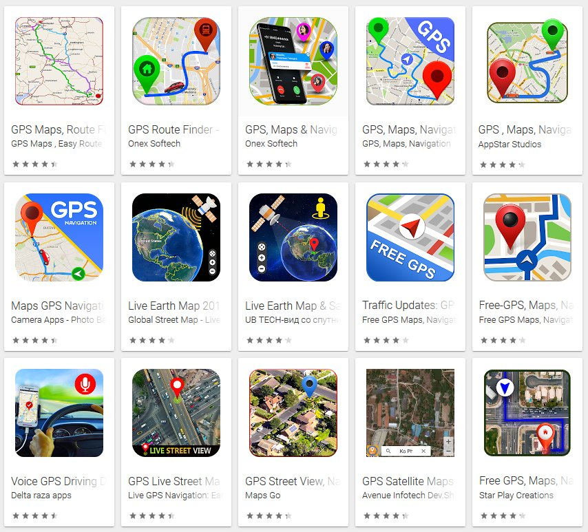 These 15 Google Play Store apps in navigational category are just Google Maps version with ads, expert says