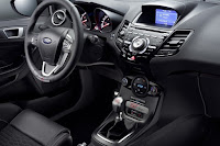 Ford Fiesta ST200 (2016) Dashboard