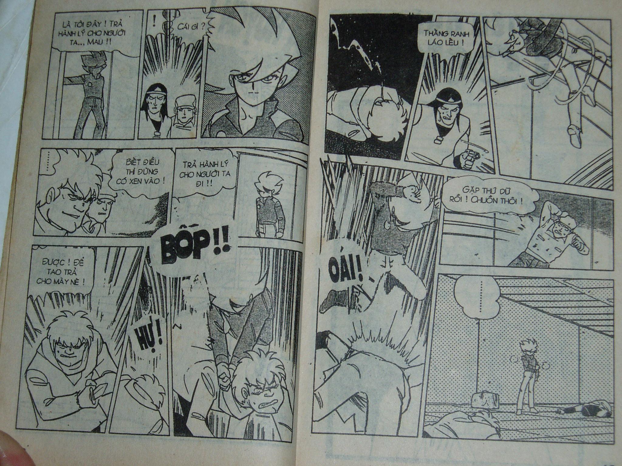 Siêu nhân Locke vol 16 trang 8