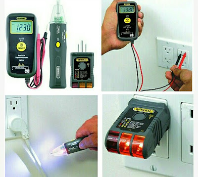 CS5 Electrical Tools - Multimeter, Voltage Detector, Wire Tester