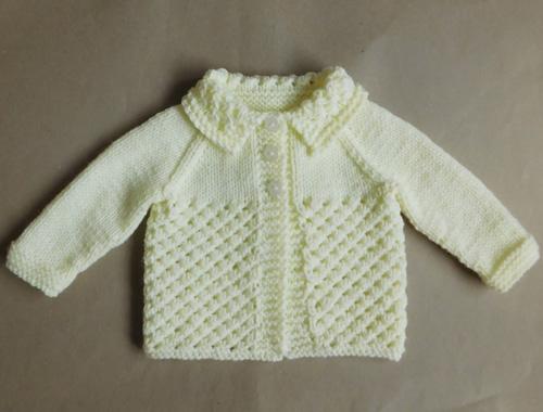 Danika Baby Jacket - Free Pattern