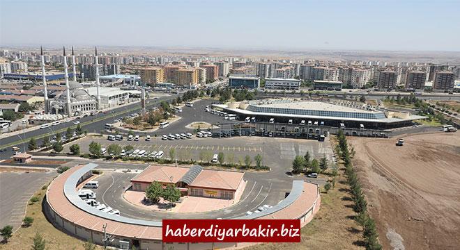 Diyarbakır'da Batı İlçe Otogarı hizmet vermeye başladı