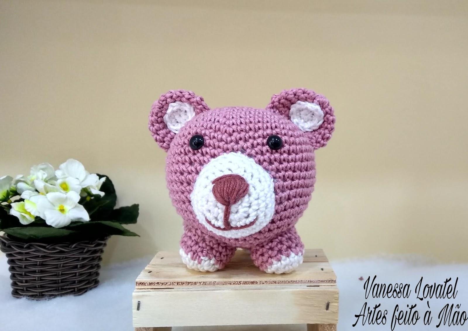 Urso e Elefante Maxi | Receitas amigurumi, Receitas de croche e ... | 1132x1600