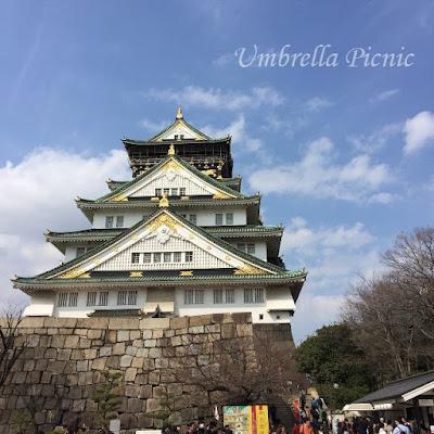 大阪城20160329写真
