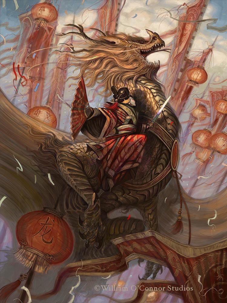 William O'Connor Studios: The Legend of the Golden Dragon