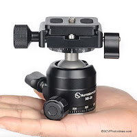 Announcement of Sunwayfoto XB-28II Low Profile Double Panning Ball Head