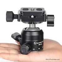 Announcement of Sunwayfoto XB-28II Low Profile Double Panning Ball Head