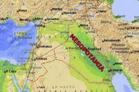 Cartina Muta Della Mesopotamia.Impariamo Insieme Geografia Della Mesopotamia